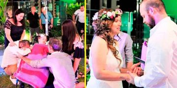 Умирающая девочка мечтала о свадьбе своих родителей
