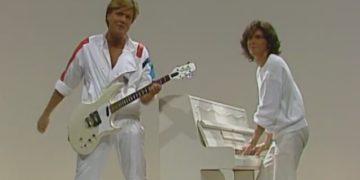 «Модерн Токинг» – первое выступление на ТВ, 02.01.1985.