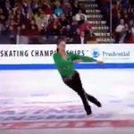 """Фигурист исполнил """"ирландский танец"""" на льду, после чего весь зал поднялся со своих мест в изумлении"""