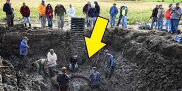 Фермер заметил что-то странное в земле, то что он выкопал поразило его
