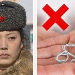 10 вещей, которые запрещены в Северной Корее