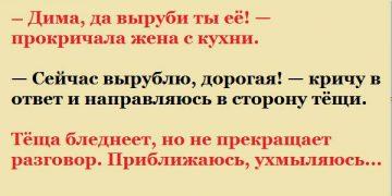 — Дима, да выруби ты её!