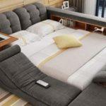 Крутая кровать на которой я бы спала вечно. Дайте две!