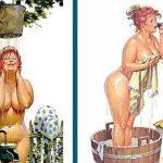 50 иллюстраций сексуальной толстушки по имени Хильда. В неё невозможно не влюбиться!
