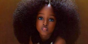 Ее называют самой красивой девочкой в мире. Малышка из Нигерии покорила Сеть.