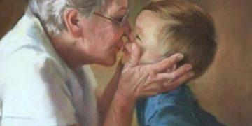 Бабушки и дедушки никогда не уходят, они просто становятся невидимыми…