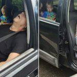 4-х летний мальчик покорно, в слезах на заднем сидении автомобиля 2 часа ждал пока его родители получат удовольствие и придут в сознание
