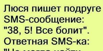 Люся пишет подруге