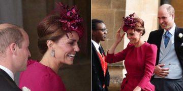 Кейт Миддлтон на свадьбе принцессы Евгении ошеломила гостей ярким нарядом. Шикарная женщина!