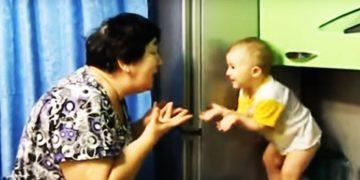 Уморительный диалог внучки и бабушки. Море позитива!