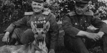 История Джульбарса. Этого пса на Параде Победы несли на руках!