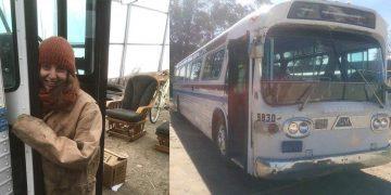 Девушка купила старый автобус за гроши. И превратила его в дом мечты