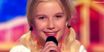 11-летняя девочка обладает уникальной техникой пения. Все слушатели затаили дыхание, когда услышали ее!