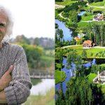 Латвийский миллионер выкупил 3000 га леса и построил «Город Солнца». Красота неописуемая