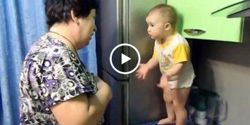 Диалог бабушки и внучки. Такое видео вызывает смех сквозь слезы…