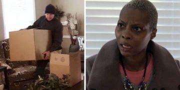 Домработницу отправили на уборку VIP-дома, когда она увидела свое имя на коробке с вещами — просто обалдела