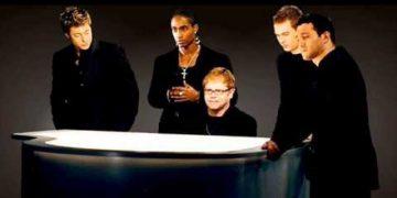 Неповторимые Элтон Джон и группа Blue — «Трудно сказать «Прости»»