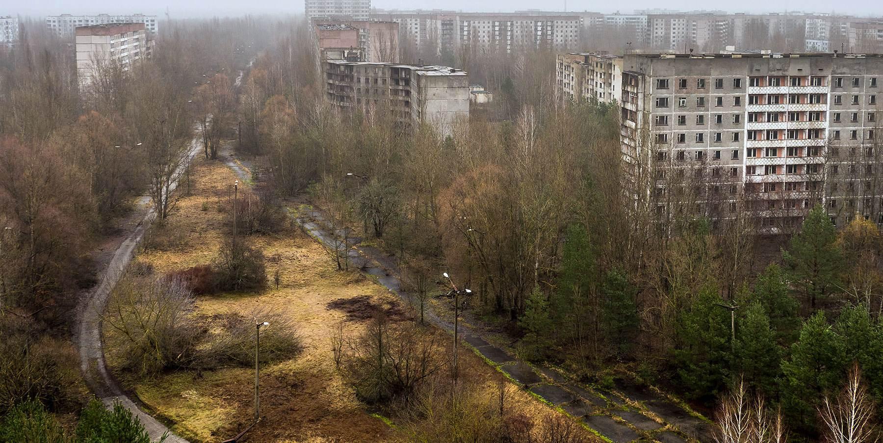 Город на украине припять фото