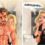 21 честный рисунок о том, как любовь меняется с годами