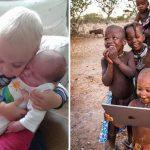 10 фотографий малышей, которые увидели что-то в первый раз в жизни! От искренности этих фото просто слёзы наворачиваются!