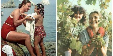 Фотографии прекрасных советских женщин, которые совершенно не похожи на наших современниц