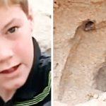 11-летний мальчик спас заживо погребённую малышку, вспомнив совет из телевизора