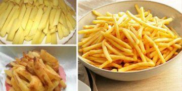 Картошка фри без капли жира, которую можно готовить детям хоть каждый день