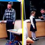 Учитель унижал первоклассницу перед всем классом. Только взгляните, как она отомстила обидчику!