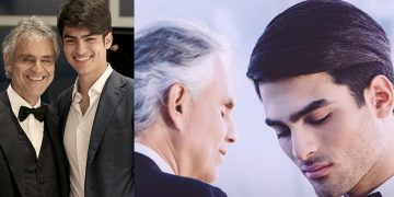 Трогательный дуэт Андреа Бочелли с сыном…Талант!