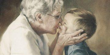 Бабушки и дедушки никогда не умирают, они просто становятся невидимыми…