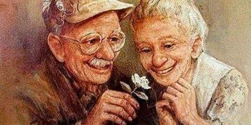 Трогательное стихотворение — «Я буду старушкой, а ты — старичком»