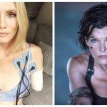 Дублерша Милы Йовович, требует 2,2 млн. долларов за потерянную на съемках руку…