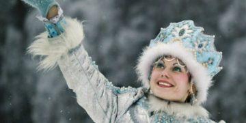 — Девушка, я хотел бы пригласить снегурочку для сына.