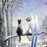 Кот и ангел.Сказка